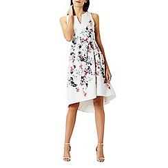 Coast - Debenhams Exclusive - Doria textured print dress