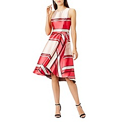 Coast - Bayshore burnout stripe dress