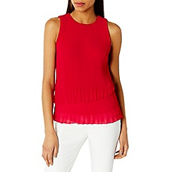 Coast - Rhiona pleated top