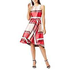 Coast - Bayshore stripe dress shorter length