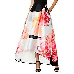 Coast - Lottie colour block skirt
