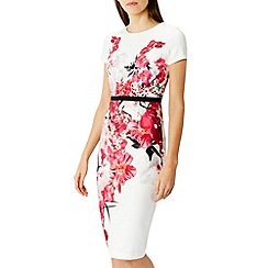 Coast - Debenhams Exclusive - Ito print henley dress