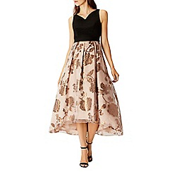 Coast - Reza Roccabella Metallic Dress