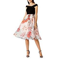 Coast - Debenhams Exclusive - Ito print lordelay dress