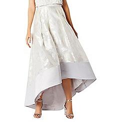 Coast - Silver flower rhian skirt