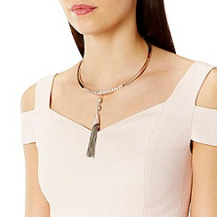 Coast - Arta torq tassel necklace