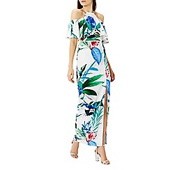 Coast - Botanico print maxi dress