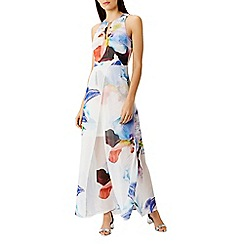Coast - Roca floral split maxi dress