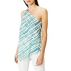 Coast - Montego one shoulder print top