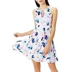 Coast - El cristo print cotton dress