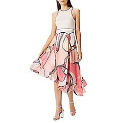 Coast - Malacom pleated midi dress