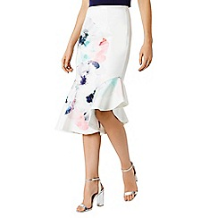 Coast - Anessa floral print skirt