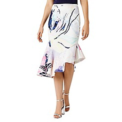 Coast - Lalissa printed pencil skirt