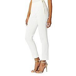 Coast - Ivory nicolette trousers