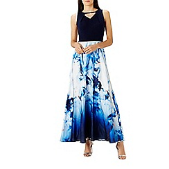 Coast - Positano print maxi dress