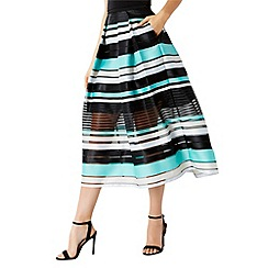 Coast - Sofia stripe skirt