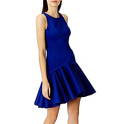 Coast - Crysta peplum hem dress