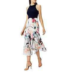 Coast - 'Debenhams Exclusive - Cerro soft midi dress''