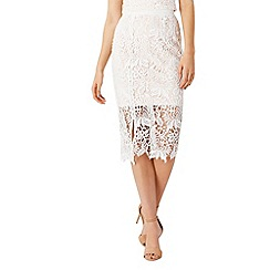 Coast - Melva lace skirt