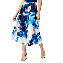 Coast - Atrani print skirt