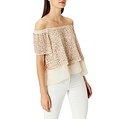 Coast - Ilona sequin bardot top