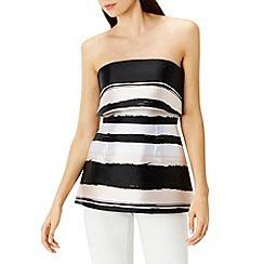 Coast - Anya stripe bandeau top