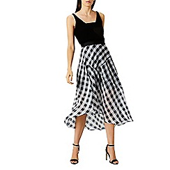 Coast - Riki gingham skirt
