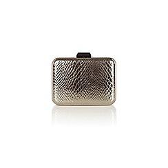 Coast - Gunmetal metallic textured 'Jude' box bag