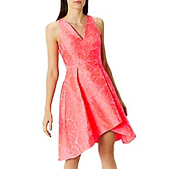 Coast - Sylvie neon jacquard dress