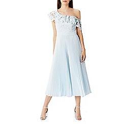 Coast - Melinda pleated lace jumpsuit