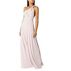 Coast - Pink corwin multi tie jersey maxi dress