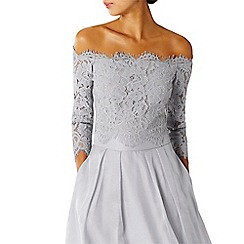 Coast - Silver Marr lace bardot top