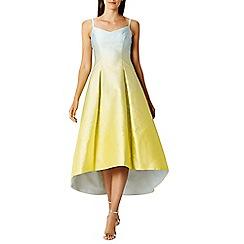Coast - Neha ombre jacquard midi dress
