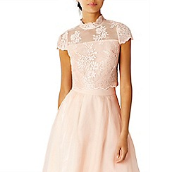 Coast - Pink jen lace bridesmaid top