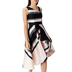 Coast - Columbus stripe midi dress