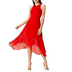 Coast - Ruby pleated midi dress