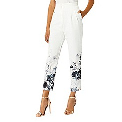 Coast - Cherries print trousers
