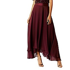 Coast - Merlot 'Harrie' soft bridesmaid skirt