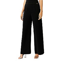 Coast - Black 'Valencia' wide leg trousers