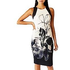 Coast - Debenhams Exclusive - Mono botanical print 'Latimer' shift dress