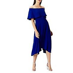 Coast - Blue Brooke bandeau dress