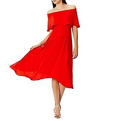 Coast - Orange Brooke bandeau dress