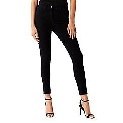 Coast - Black cotton blend 'Mika' high waisted skinny jeans