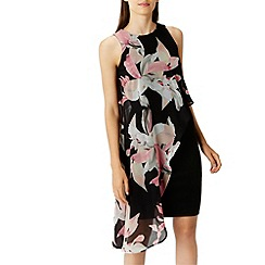 Coast - Victorie print arossa dress
