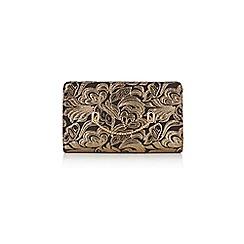 Coast - Gold jacquard eyelet 'Nadine' bag