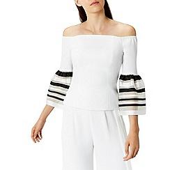 Coast - Kia bell sleeves bardot top