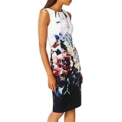 Coast - Debenhams Exclusive - multi 'Foye' floral print shift sleeveless dress