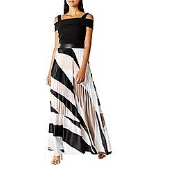 Coast - Rockafella pleated maxi dress