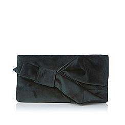 Coast - Green velvet 'Azalea' box bag