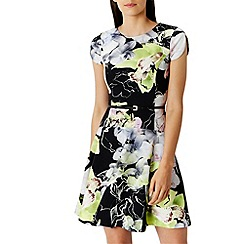 Coast - Barbette scuba print dress